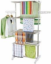 HS-Lighting Mobiler Wäscheständer
