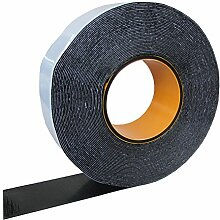 HSF Butylband 12mm x 1mm mit Gelegeeinlage schwarz 15m Rolle