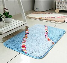 HSheng® Haushalt Teppiche Badematten Türmatten Prinzessin Schlafzimmer-Bett-Zimmer Fußmatte , 4 , 80*120cm