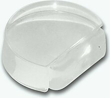 HSI Türstopper Kunststoff Transparent, Kautschuk, Klar, 3.7 x 4.2 x 1.5 cm