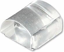 HSI Türstopper Kunststoff Transparent, Kautschuk,
