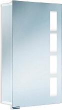 HSK Alu-Spiegelschränke Spiegelschrank 45 cm