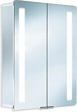 HSK Alu-Spiegelschränke Spiegelschrank 60 cm