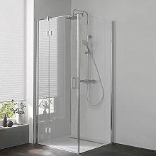 HSK Aperto Duschtür mit Seitenwand 90 cm