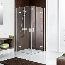 HSK Atelier Dusche mit Eckeinstieg 80 cm x 80 cm
