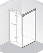HSK Atelier Plan teilgerahmte Glas - Seitenwand