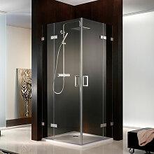 HSK Atelier Pur Dusche mit Eckeinstieg 160 cm x