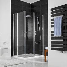 HSK Favorit Nova Dusche mit Eckeinstieg 80 cm x 80