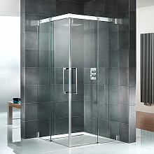 HSK K2 Dusche mit Eckeinstieg 120 cm x 120 cm