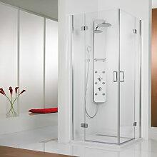 HSK Premium Softcube Dusche mit Eckeinstieg 75 cm