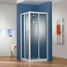HSK Prima Dusche mit Eckeinstieg 90 cm x 75 cm
