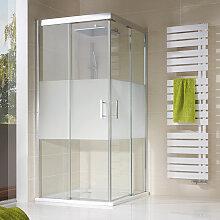 HSK Solida Dusche mit Eckeinstieg 80 cm x 80 cm