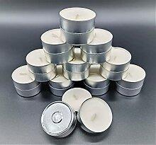 HSM 90 Stück Maxi Teelichter Teelicht Kerzen