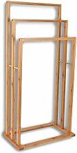 HSM Handtuchhalter aus Bambus 42x24x81,5cm