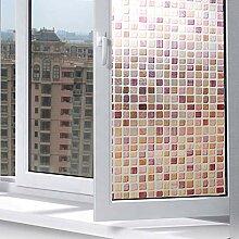 HSMM ,Blickdicht Fensterfolie,Selbstklebende