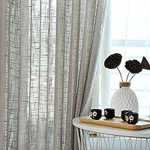 HSMM Vorhänge,Transparente gardinen,Leinen