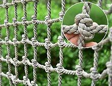 HSTFR Hanfseilnetz für Kinder Outdoor,