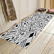 HSXQQ Toilettenmatte Rutschfeste Wohnzimmer