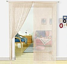 HSYLYM, Perlenvorhang für Türen, Wohnzimmer, als