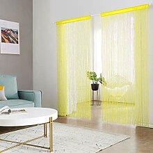 HSYLYM Perlenvorhang für Türen Wohnzimmer als