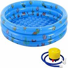 HT&PJ Aufblasbarer Pool,aufblasbares Planschbecken