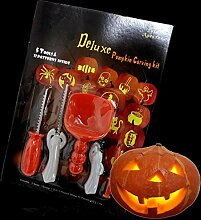HTAIYN 5 stücke Halloween Kürbis Carving Tools