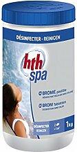 HTH Brom für Schwimmbecken / Whirlpool, Tabletten à 20g–desinfizierend, langsam löslich