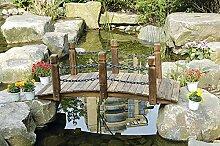 HTI-Line Gartenbrücke Sommerset Zierbrücke NEU