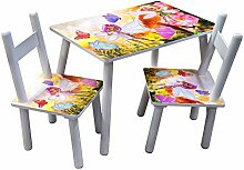 HTI-Line Kindertischgruppe Blumenfee Kindertisch
