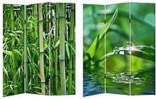 HTI-Line Paravent Bambus Sichtschutz Spanische