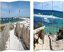 HTI-Line Paravent Beach 1 Sichtschutz Spanische