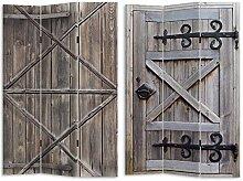 HTI-Line Paravent Gate Sichtschutz Spanische Wand