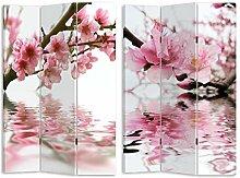 HTI-Line Paravent Magnolia Sichtschutz Spanische