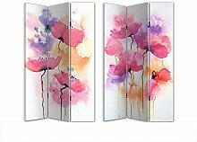 HTI-Line Paravent Poppy Sichtschutz Spanische Wand