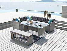 HTI-Line Terrassenmöbel Elba Loungemöbel