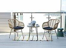 HTI-Line Terrassenmöbel Ibiza Loungemöbel Gartenmöbel Garnitur