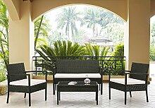 HTI-Line Terrassenmöbel Palma Loungemöbel
