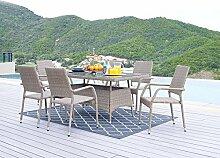 HTI-Line Terrassenmöbel Valetta Loungemöbel
