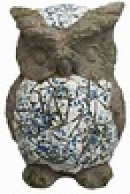HTI-Line Tierfigur Gartendeko Mosaik Eule