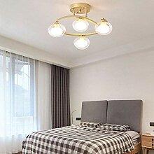 HTL Dekorative Beleuchtung Ring Glas Lampenschirm