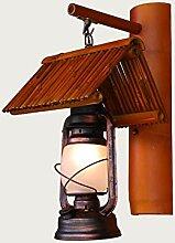 HTL Dekorative Nacht Lampe - Retro nostalgischen