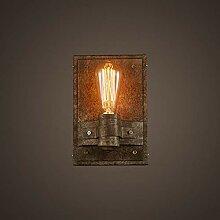 HTL Dekorative Nachtlampe - Wandlampe Iron Art