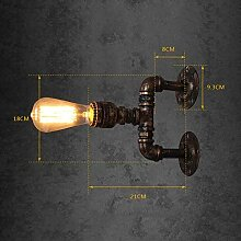 HTL Dekorative Nachtlampe - Wasserpfeife Wandlampe