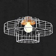 HTL Leuchte, Nordic Kreative Retro Eisen Mesh