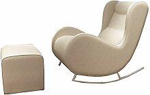 HTOOLA Lounge-Sessel PU Leder Ergonomisches Design