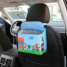 HTSHOP Auto Müll Aufbewahrungsbox, Auto