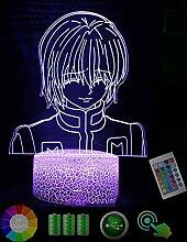 Hu·nter X Hun·TER Kur·apika 3D Nachtlicht Led