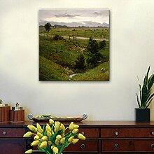HUA Weide oder handgemalte Ölgemälde, Bilderrahmen Einzel-, Wohnzimmer-Esszimmer Dekoration Bilder