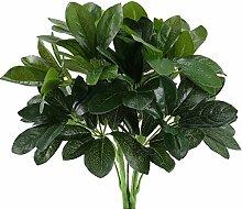 HUAESIN 2pcs Künstliche Pflanzen Draußen
