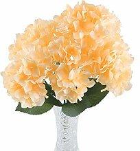 HUAESIN Hortensie Künstlich Blumen deko